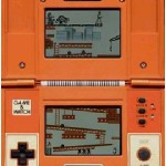 ゲームウォッチで発売された『ドンキーコング』