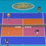 ナムコの代表的なテニスゲーム『プロテニス・ワールドコート』