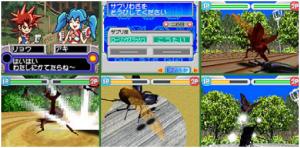 甲虫格闘ムシ-1グランプリ(DS)・ゲームシステム