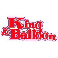 『キング・アンド・バルーン』 タイトルロゴ
